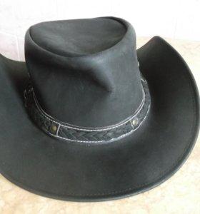 Шляпа   Austrailian Classic-Dakota Lthr-Black
