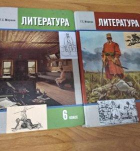 Учебники по литературе 6 класс 2 части