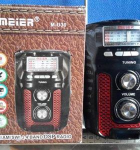 Колонка с FM,USB, TF карта, св.диодный
