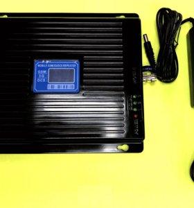 Усилитель GSM/3G/4G/LTE 1800 Комплект (Новый)