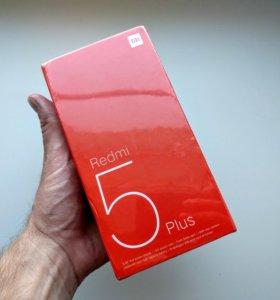 Смартфон Xiaomi Redmi 5 Plus 4/64Gb Global Новый