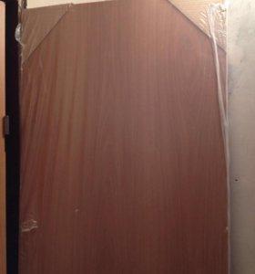 Двери межкомнатные, 3 комплекта с коробкой и налич