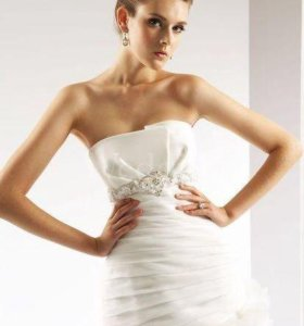 Свадебное платье Jasmine Bridal Couture, S, Ivory