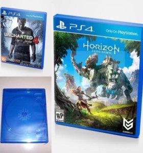 Horizon zero dawn uncharted 4 ps4 и бокс