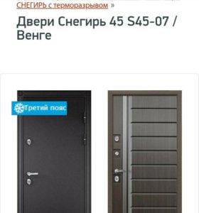 Входная металлическая дверь Торекс.
