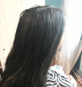 Крашу волосы