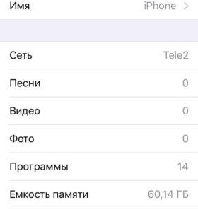iPhone 5 64 gb grey