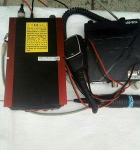 Рация ТСВ551.усилитель Антенна