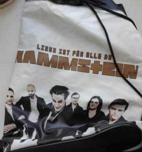 Рюкзак с rammstein