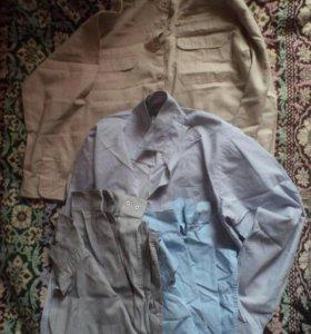 рубашки школьные (5 штук)