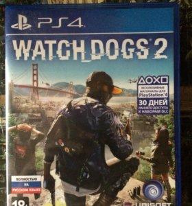 Watch dogs 2 для ps4