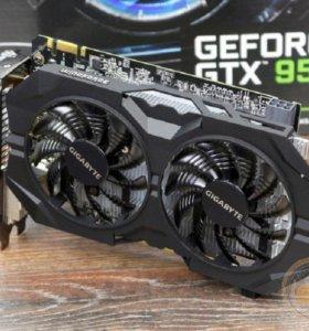Gigabyte GeForce GTX 950 GV-N950WF2OC-2GD