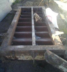 Форма для литья жб лестниц
