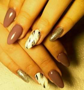 Маникюр, покрытие гель-лак, био-гель дизайн ногтей