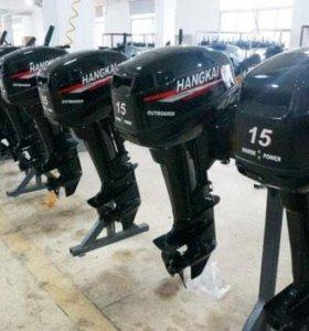 Подвесной лодочный мотор Ханкай (Hangkai) новый