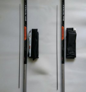 Удочки телескопические из карбона 9 и 8 метров