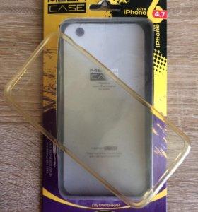 Чехлы силиконовые для iPhone 6+ и iPhone 6