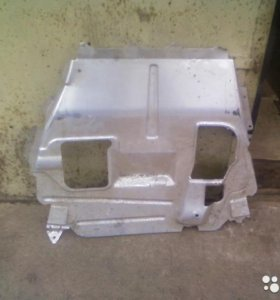 Защита двигателя Лада Калина, блок фара, бампер