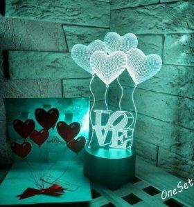 Впусти в свой дом волшебный свет 3D лампы!