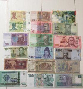 Купюры- банкноты
