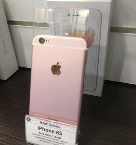 iPhone 6s 16gb Rose Gold Б/У