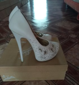 Свадебные туфли размер 35