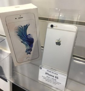 iPhone 6s 128gb Silver Б/У