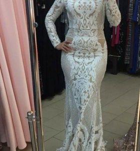 Вечернее, свадебное платье
