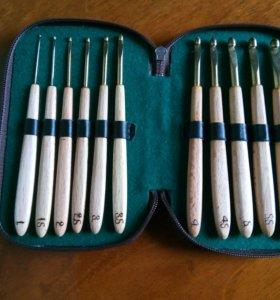 Набор из 11 крючков для вязания .