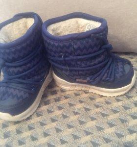 Ботинки зимние adidas оригинал