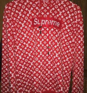 "Худи ""Supreme x Louis Vuitton"" оверсайз"