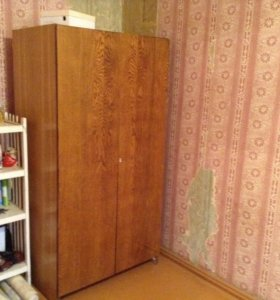 шкаф 2х створчатый,полированный