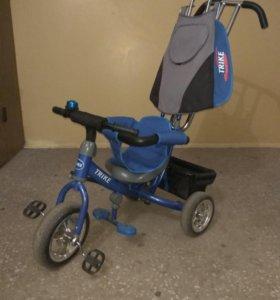 Велосипед трехколесный детский 12м+