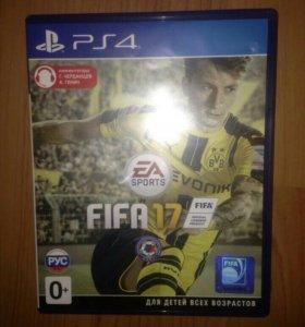 Игра для Playstation 4 FIFA17