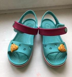 Летние сандали crocs!