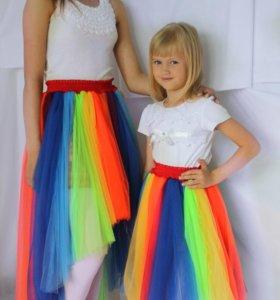 Радужные юбки