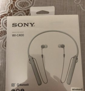 Наушники Sony Wi-C400 новые