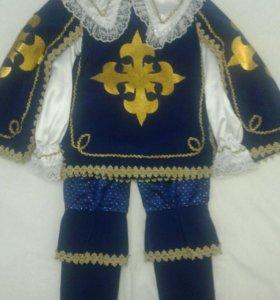Новогодний карнавальный костюм мушкетера