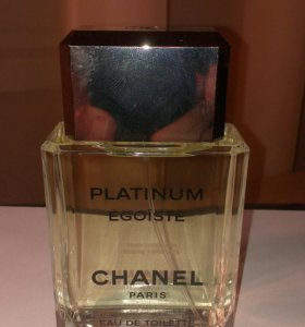 Тестер Egoiste Platinum Chanel Оригинал
