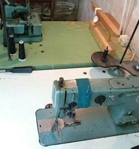 Две производственные швейные машины