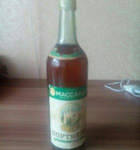 Портвейн. Масандра. 1961г. Крымский. УССР.