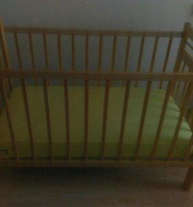 Кроватка с матросом