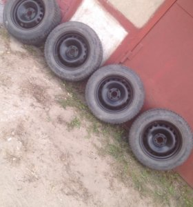 Зимние колёса на Рено Меган 2