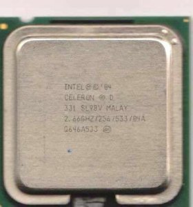Процессор intel celeron 331