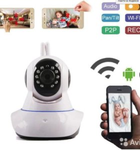 Новая поворотная IP-видеокамера (Wi-Fi )