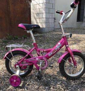 Велосипед детский для девочки.