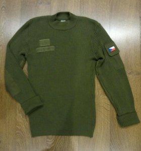 Свитер шерстяной армии Чехии CZ
