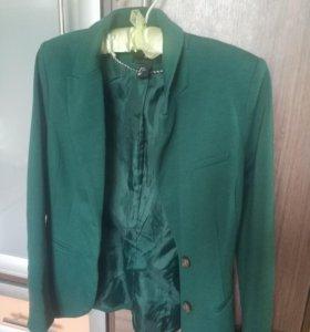 Пиджак hm + рубашка