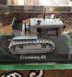 Модель трактора Сталинец