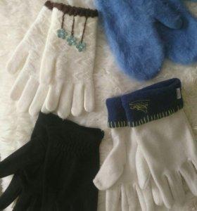Перчатки, рукавички